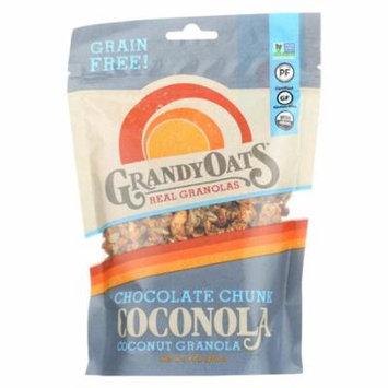 Grandy Oats Organic Granola - Chocolate Chunk Coconola - Case of 6 - 9 oz