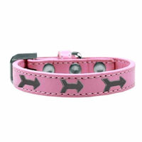 Arrows Widget Dog Collar Light Pink Size 16