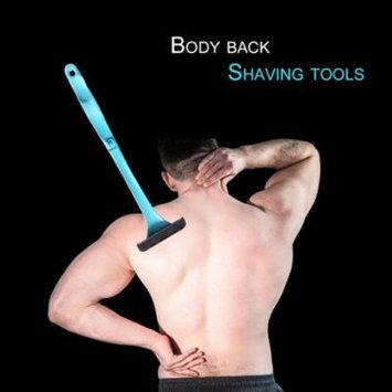 Foldable Handle Design Men Women Plastic Body Back Hair Shaver Long Handle