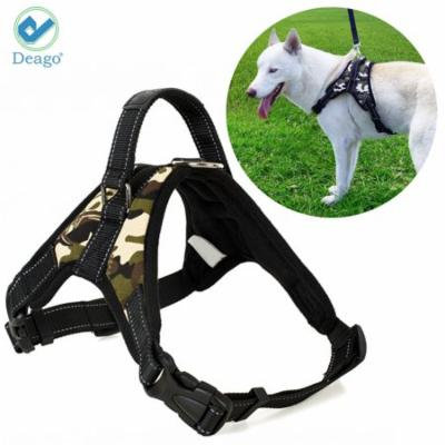 Deago No Pull Dog Harness Reflective Safety Pet Vest Adjustable Dog Harness With Handle for Small/Medium/Large dogs Outdoor Training Walking Traveling