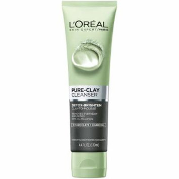 L'oreal Paris Pure-Clay Energizing & Brightening Cleanser Full (Pack of 10)