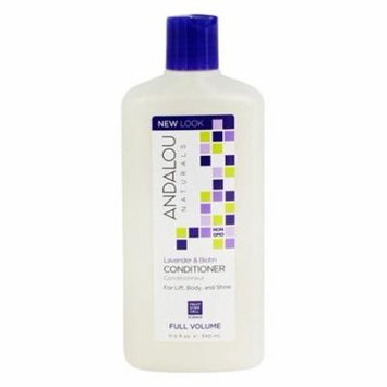 Full Volume Conditioner Lavender & Biotin - 11.5 fl. oz. by Andalou Naturals (pack of 2)