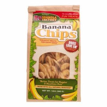 K9 Granola Banana Chips Dog Treats, 12 Oz
