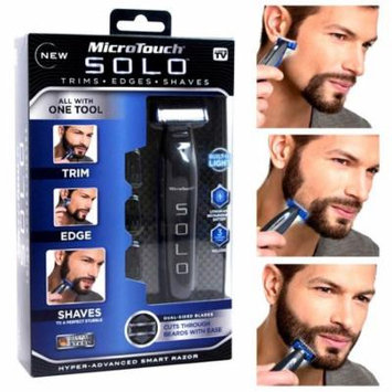 Micro Touch SOLO Rechargeable Trimmer for Men Razor Shaver Edges Men Gift ,Precision Face and Head Trimming