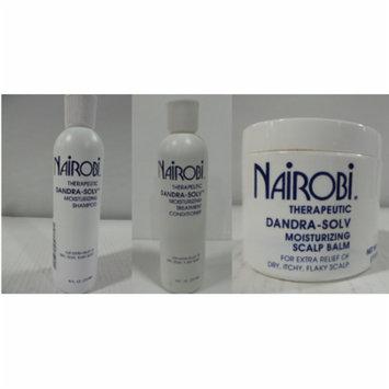 Nairobi Dandra-Solv Moisturizing Shampoo & Conditioner 8oz & Scalp Balm