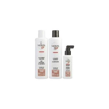 NIOXIN by Nioxin - SET-3 PIECE MAINTENANCE KIT SYSTEM 3 WITH CLEANSER 10.1 OZ & SCALP THERAPY 10.1 OZ & SCALP TREATMENT 3.38 OZ (PACKAGING MAY VARY) - UNISEX