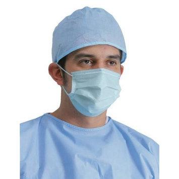 Earloop Face Mask Latex Free Blue 50 Per Box