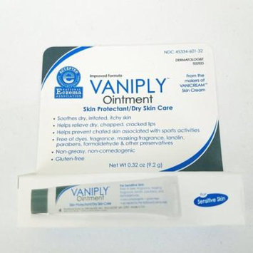 3 Pack Vaniply Ointment Skin Protectant Dry Skin Care, Non-Greasy, 0.32 Oz Each