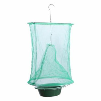 Reusable Hanging Fly Catcher Flies Killer Flytrap Cage Net Trap Pest Control Tool for Garden Home Yard Supplies