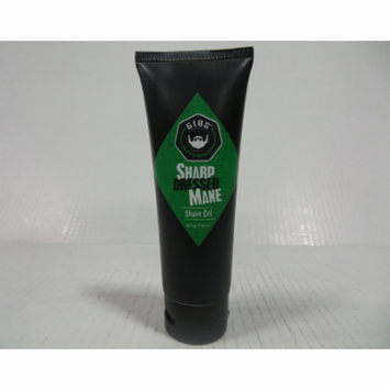 Gibs Sharp Dressed Mane Shave Gel, 4 oz-Pack of 6