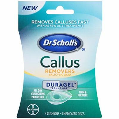 6 Pack Dr Scholl's Callus Removers Thin & Flexible 4 Cushions/Disks (6 x 4 = 24)