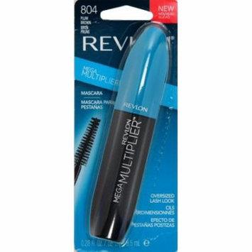 Revlon Mega Multiplier Mascara, Plum Brown (Pack of 2)