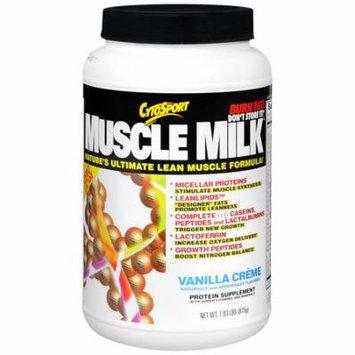 CytoSport Muscle Milk Protein Powder Vanilla1.93 lbs(pack of 2)