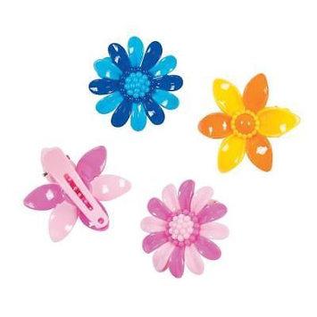 IN-13756650 Flower Hair Clip Assortment Per Dozen 2PK