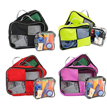 Packing Cubes / Organisers For Easy Packing And Toiletry Bag Hand Luggage Approved Solution