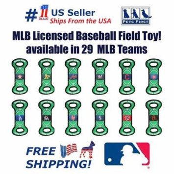 Pets First MLB Tampa Bay Rays Cat & Dog Nylon Field Toy