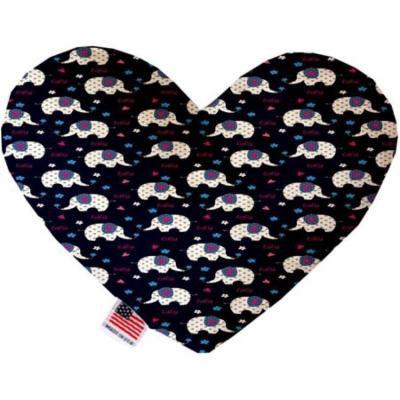 Baby Elephants 6 inch Heart Dog Toy