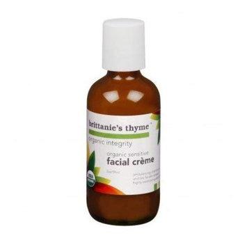 Brittanies Thyme Organic Sensitive Facial Crème - 2 oz.