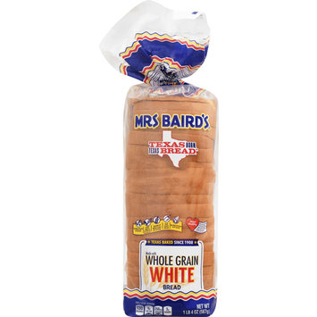 Mrs Baird's made with Whole Grain White Bread, 20 oz