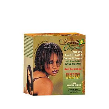 Smooth Organics Original No Lye Relaxer Kit - Super (2 Pack)