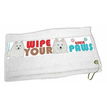American Eskimo Dog Paw Wipe Towel
