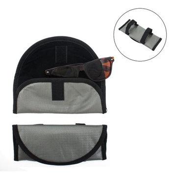 Visor Sunglasses Case 2 Visor Sunglasses Soft Protective Cases Holders -Easy Storage For Car Or Truck