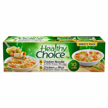 Healthy Choice Variety Pack Soup, 10 pk./15 oz. (pack of 6)
