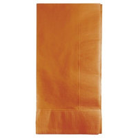 50ct Pumpkin Spice Orange Napkins