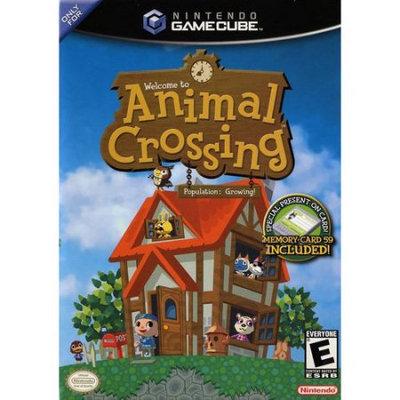 Gamecube Animal Crossing + Free 4MB Memory Card