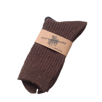 Meso Women's 4 Pairs Knitted Wool Socks One Size 7-10