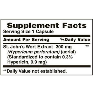 Nature's Bounty St. John's Wort 300 mg Caps, 100 ct, Pack of 2 …