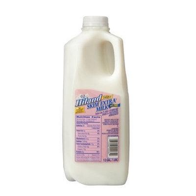 Placeholder Hiland Fat Free Skim Milk, .5 gal