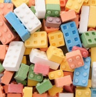 Candymachines Candy By The Pound - 1 Pound Bag of Candy Blox