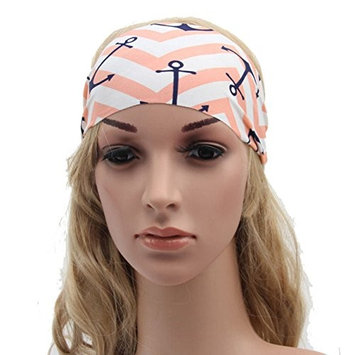 Boho Turban Headband Cute Hippie Elastic Head bands for Women & Girls (#4)