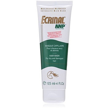 Hair Mask with ANP for Dry, Damaged and Brittle Hair, 4 Ounce by Ecrinal
