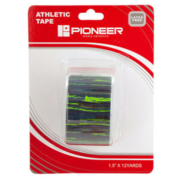 Pioneer Blue &Amp; Green Athletic Tape (Pack Of 36)