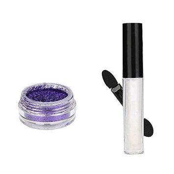 Baomabao Shimmer Glitter Lip Gloss Powder Palette Glitter Lipstick Cosmetic Eye shadow