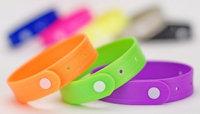 Light In The Dark Set of Four Citronella Scented Bracelets