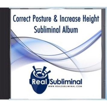 Correct Your Posture & Increase Height Subliminal CD