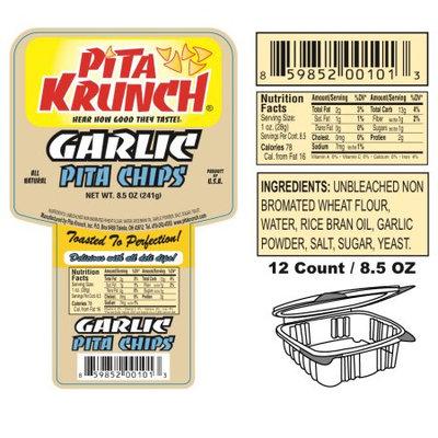 Pita Krunch Inc Pita Krunch /Pita Chips - Garlic