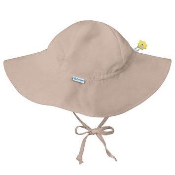 I Play Solid Brim Sun Protection Hat, Khaki Infant (6-18 mo)