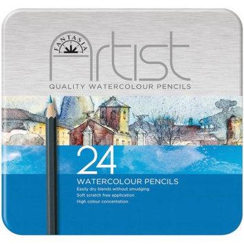 Pro-art Fantasia Premium Watercolor Pencil Set, 24pc