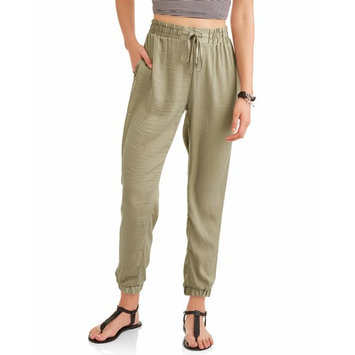Juniors' Soft Light-weight Joggers w/ Tie-waist
