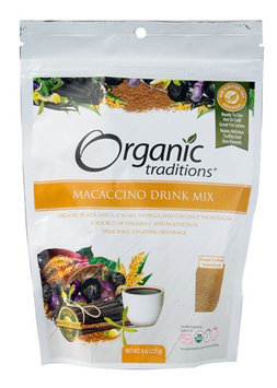 Organic Traditions Macaccino Drink Mix 8 oz