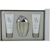 Adrienne Vittadini 483721 AV by Adrienne Vittadini Gift Set 3 oz Eau De Parfum Spray plus 3.3 Body Lotion plus 3.3 oz Shower Gel