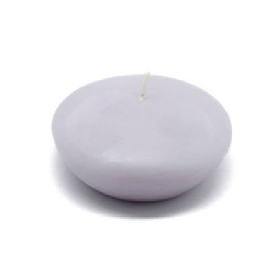 Zest Candle CFZ-061 3 in. Lavender Floating Candles -12pc-Box