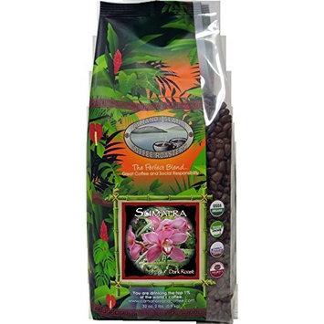 Camano Island Coffee Roasters Coffee, Sumatra Dark Roast, 2-Pounds [Whole Bean]