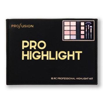 Profusion Cosmetics Pro Highlight Kit - 15pc