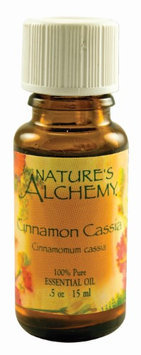 Nature's Alchemy 100% Pure Essential Oil Cinnamon Cassia - 0.5 fl oz