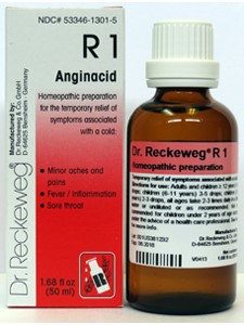 Pain Relief Fever Reducing R1 50 ml by Dr. Reckeweg